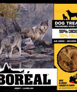 Boreal 100% Chicken Jerky Air Dried Dog Treats
