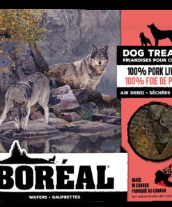 Boreal 100% Air Dried Pork Liver Dog Treats