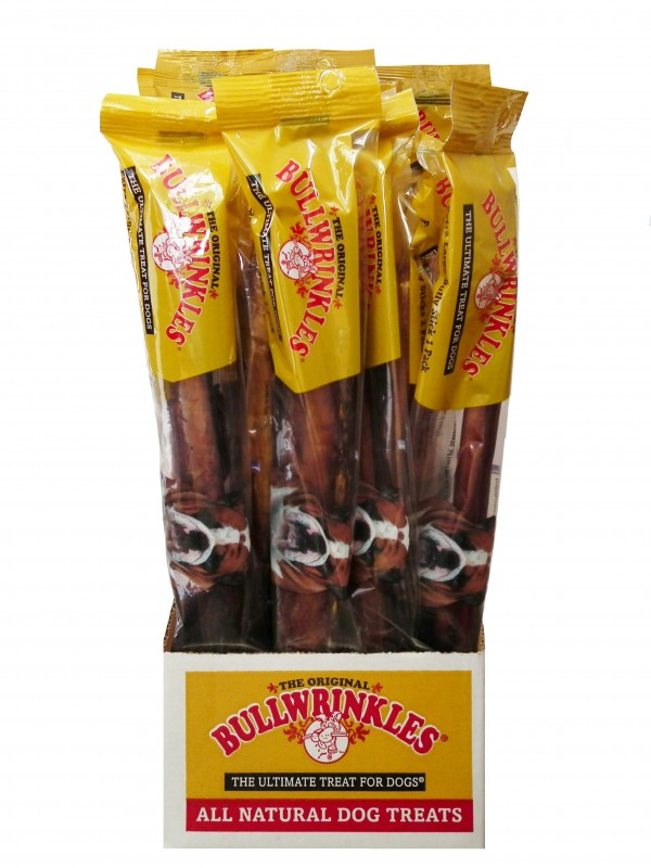 bullwrinkles 12 extra large bully stick 1 per pack biopaw. Black Bedroom Furniture Sets. Home Design Ideas