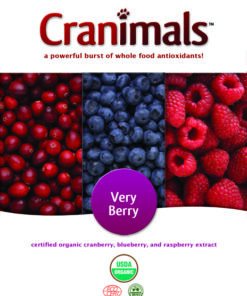 Cranimals Cranberry supplement for dogs and cats