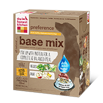 The Honest Kitchen Preference raw dehydrated food mix